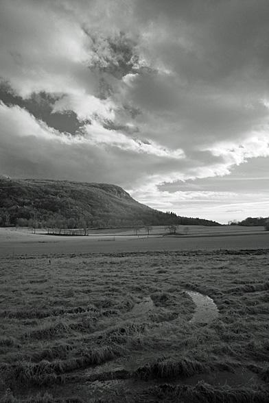 Paysage infrarouge, Sillingy, Haute-Savoie