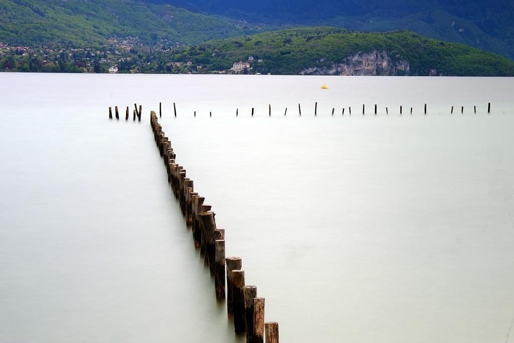 le lac d'Annecy vu de Sevrier