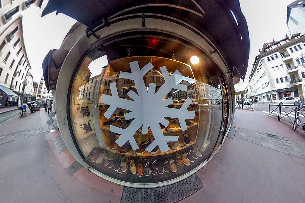 vitrine flocon de neige
