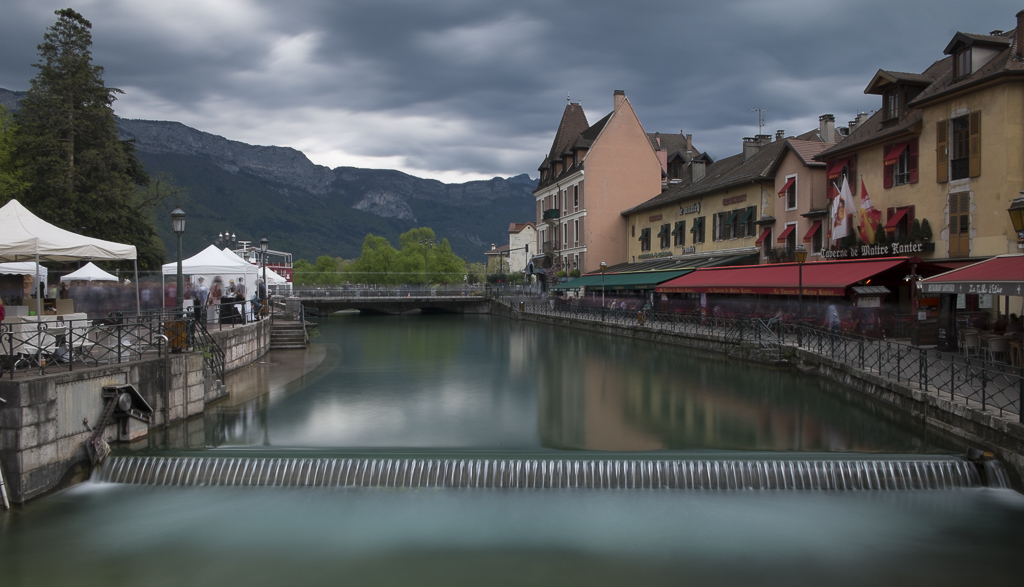 Annecy, Canal du Thiou