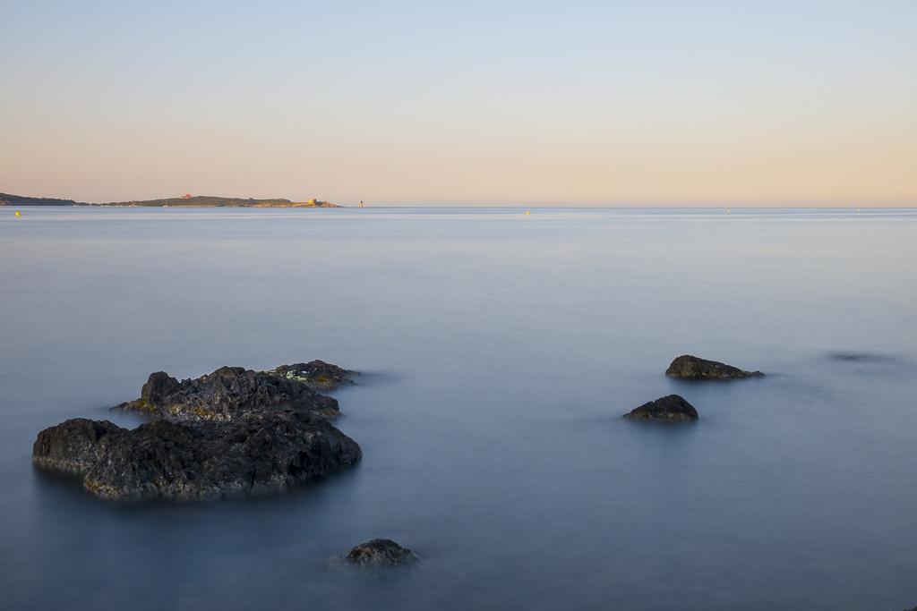 Levé de Soleil, Presque-île de Giens. 30 secondes de pause.