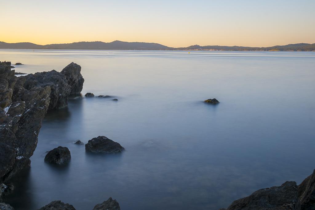 Levé de soleil, Presque île de Giens, 30 secondes de pause