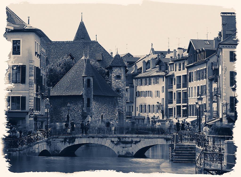 Annecy, palais de l'Isle