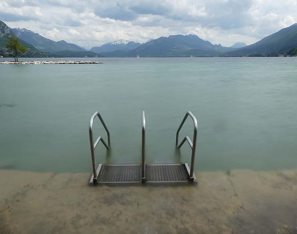 Plage d'Albigny, Lac d'Annecy
