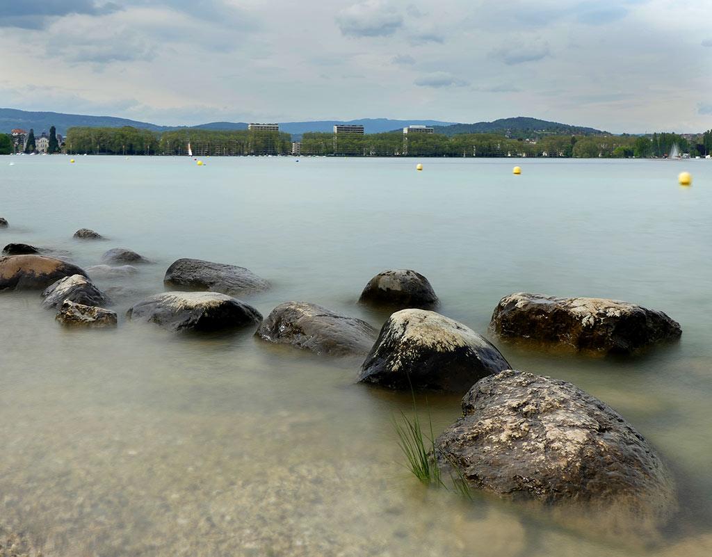 Annecy, plage des marquisats